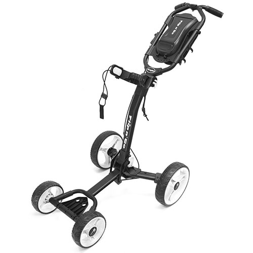 Black/White Flip-N-Go 4-Wheel Golf Cart