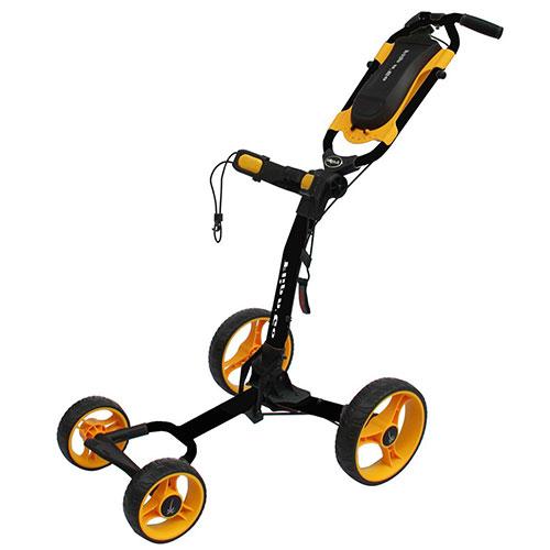 Black/Orange Flip-N-Go 4-Wheel Golf Cart