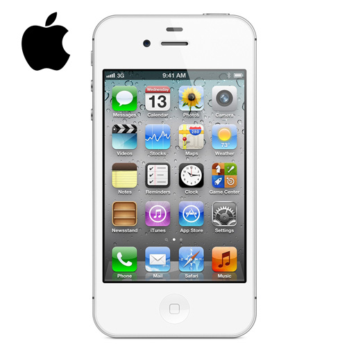 Apple iPhone 4S 8GB Factory Unlocked GSM Cell Phone - White