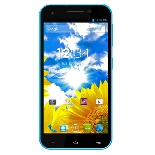 BLU Studio 5.5 D610a Unlocked GSM Dual-SIM Android Cell Phone - Blue