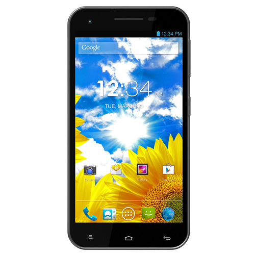 BLU Studio 5.5 D610a Unlocked GSM Dual-SIM Android Cell Phone - Gray