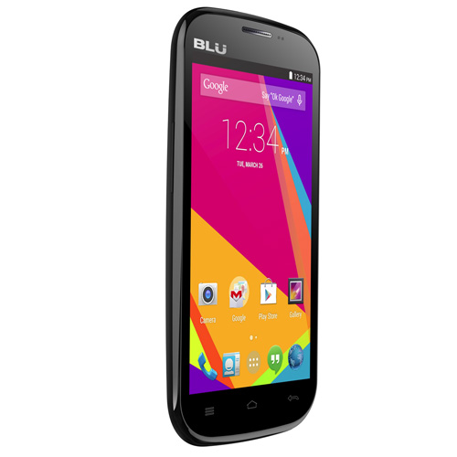 BLU Studio 5.0 K D531k Unlocked GSM Dual-SIM Android 4.4 Phone - Black