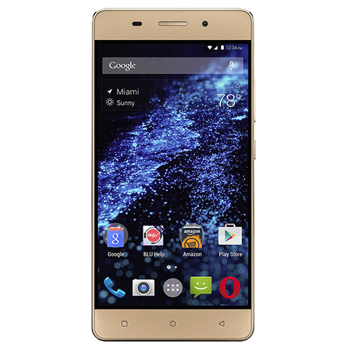 Blu Energy X LTE E0010UU GSM Phone - Gold
