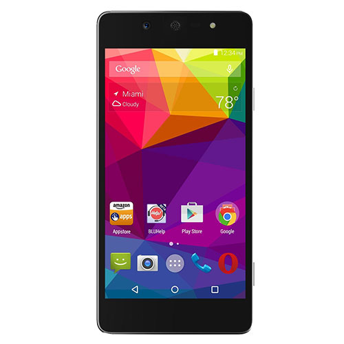 Blu Vivo Selfie V030UU GSM Phone - Black