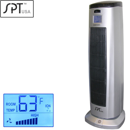 Tower Ceramic Heater with Ionizer