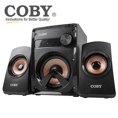 Coby 2.1 High Performance Speaker System