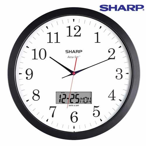 Sharp Analog/Digital Wall Clock