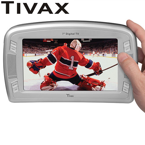Tivax 7 Inch Portable TV
