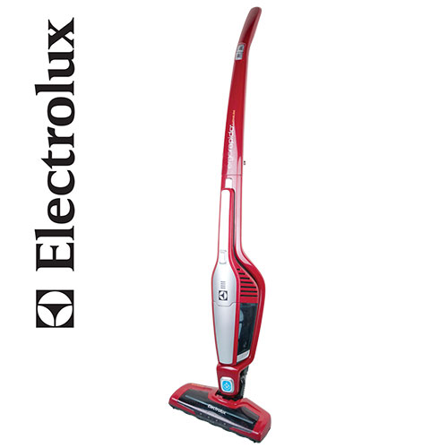 Red Electrolux 2-in-1 Cordless Vacuum