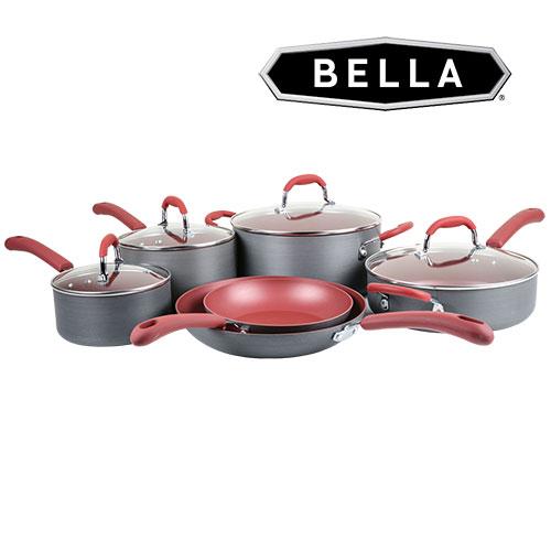 Bella 11 Piece Cookware Set