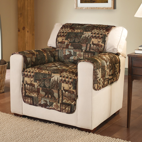Lodge Print Furniture Protector - Chair