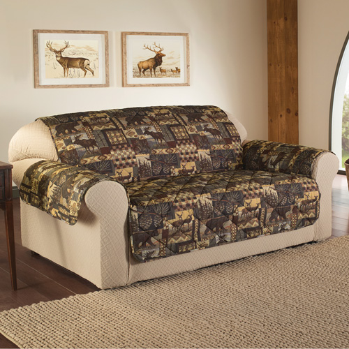 Lodge Print Furniture Protector - Sofa