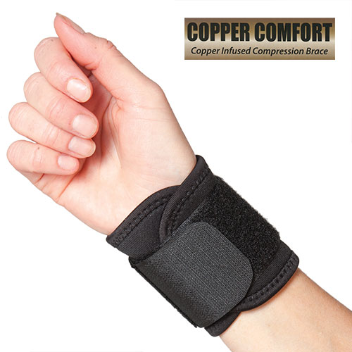 Copper Infused Wrist Wrap