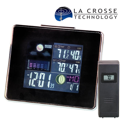Easy Read Weather Station Clock