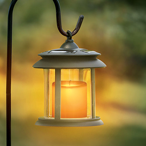Flicker Candle Solar Lights - Single
