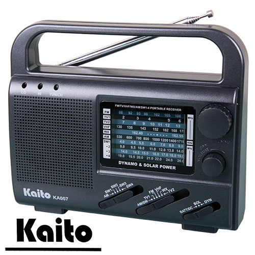 Kaito KA007 4-Way Portable Emergency Radio