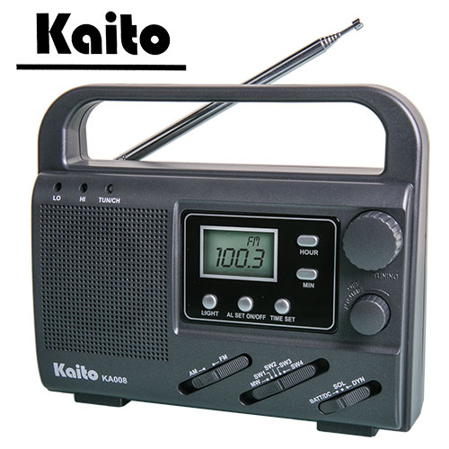 Kaito Portable Emergency 4-Way Radio
