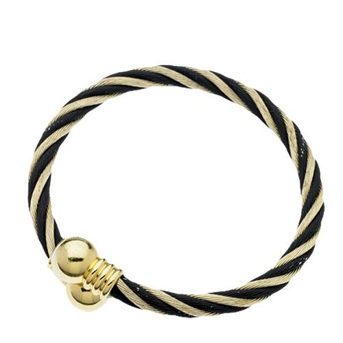 Magnetic Bracelet - Gold/Black