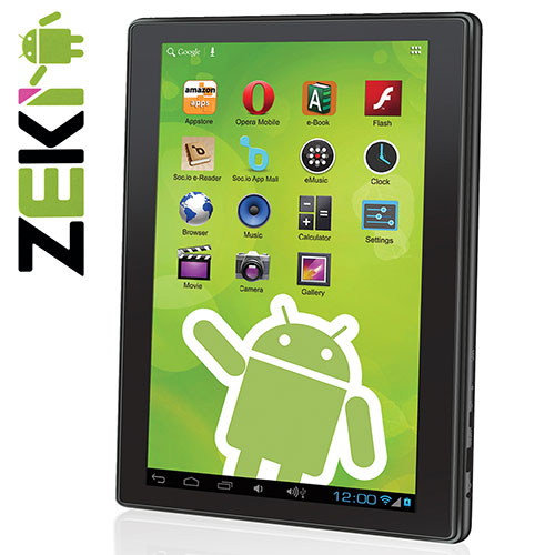 Zeki 10.1IN Quad-Core Tablet