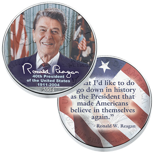 Ronald Reagan Silver Eagle