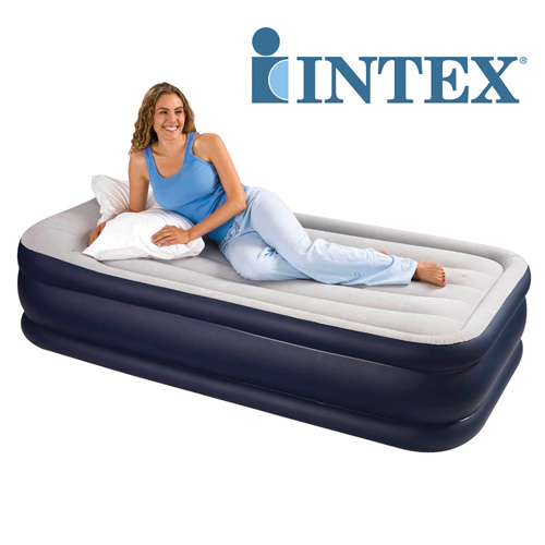 Intex 19 inch Raised Air Bed - Twin