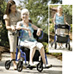 Hybrid LX Rollator/ Chair