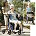 Hybrid LX Rollator/ Chair