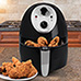 Savoureux Pro Line Air Fryer with 3 Quart Frying Basket