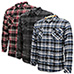 Burnside Men's Flannels - 3 Pack