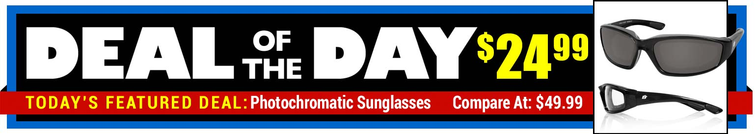 55% Off Birdz Eyewear Photochromatic Sunglasses - Compare at $49.99 - Deal of the Day $22.99
