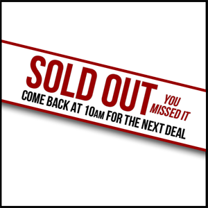 Sold Out! You Missed It