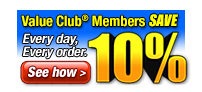 Join Our Value Club!